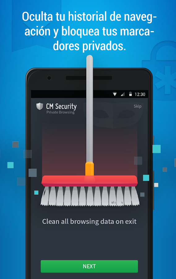 CM Security AppLock Antivirus: captura de pantalla