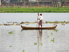 Photo: #014-Amarâpura, Taungthaman Lake.