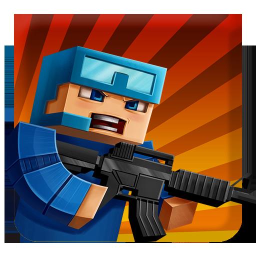 Pixel Combats: guns and blocks 動作 LOGO-玩APPs