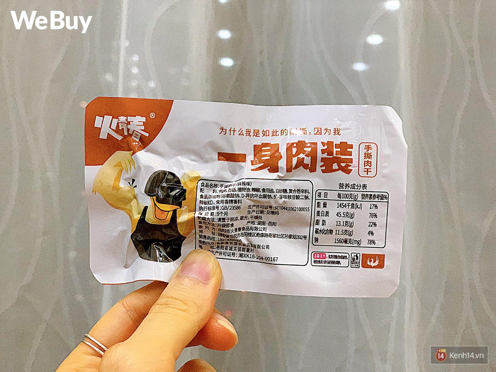 """Review set đồ ăn vặt nội địa Trung Quốc hot hit gần đây: Lung linh hấp dẫn là thế nhưng ăn thử mới thấy như bị... """"lừa tình"""" - Ảnh 11."""