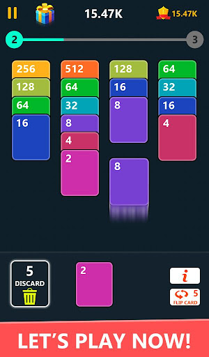 2048 Solitaire Card Game 2.4 screenshots 1