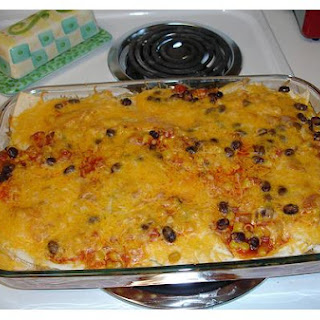 Mexican Chicken and Vegetable Casserole