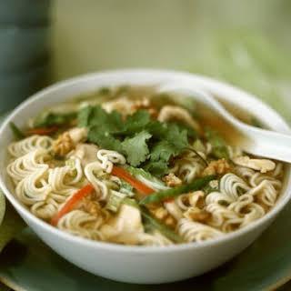 Oriental Chicken Noodle Soup.