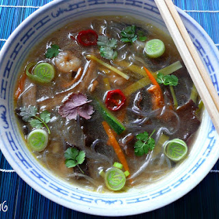 Asian Vegetable Soup.
