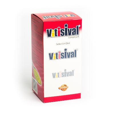 Complejo B Vitisival Jarabe 240 Ml Valmor Jarabe 240 ml