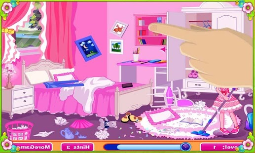 Cleaning and arrange home game Screenshot
