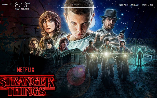 Stranger Things Wallpapers FullHD New Tab