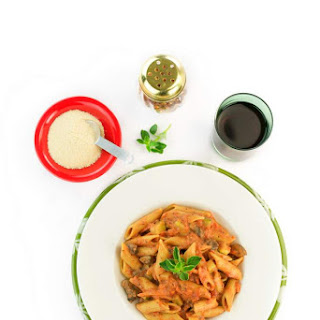 One Pot Vegan Vodka Sauce Pasta from The Easy Vegan. Review + GIVEAWAY!