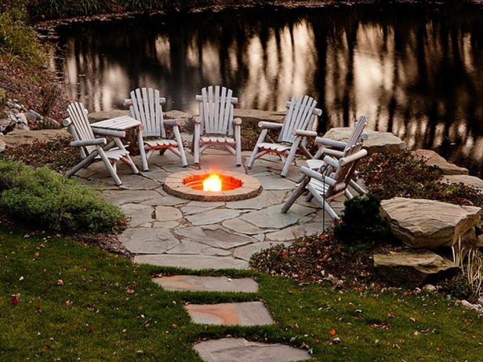 Image result for backyard fire pit