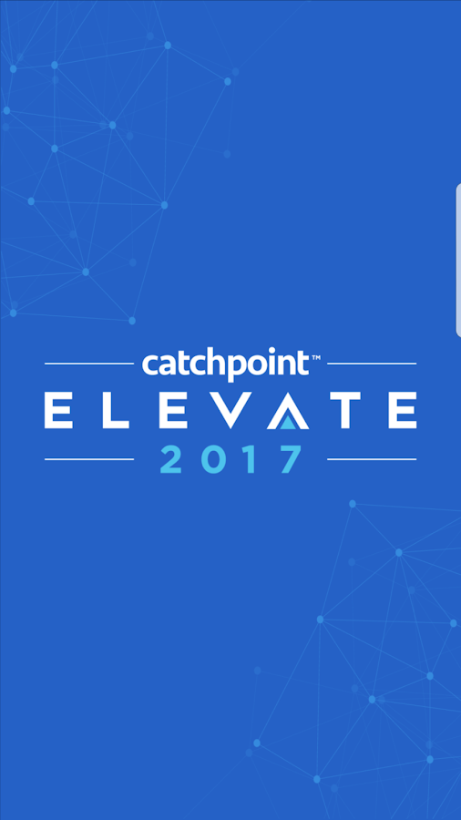 Catchpoint Elevate 2017- screenshot