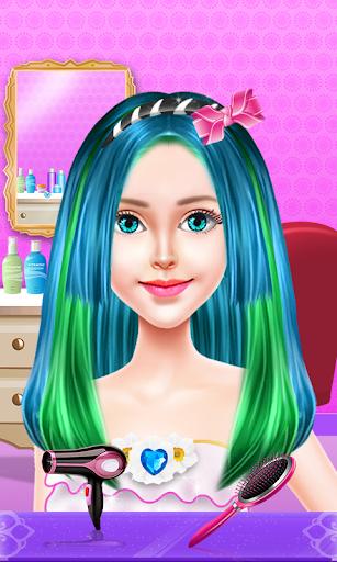 Fashion Hair Salon - Kids Game  screenshots 5
