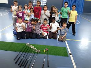 Photo: Semana de Golf en el colegio