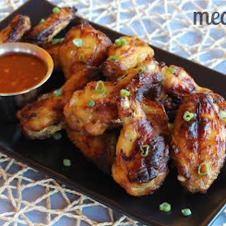 Paleo Glazed Chicken Wings.
