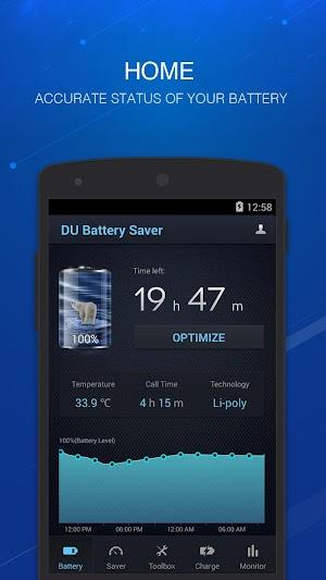 1 DU Battery Saver丨Power Doctor App screenshot