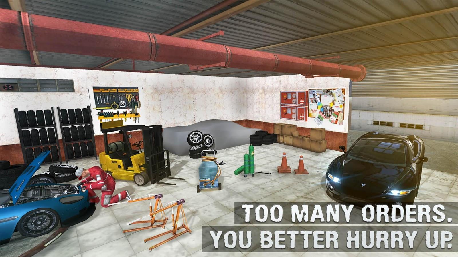 Design car repair workshop - Real Car Mechanic Workshop Sim Screenshot