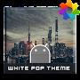 Премиум White Pop Theme For Xperia временно бесплатно
