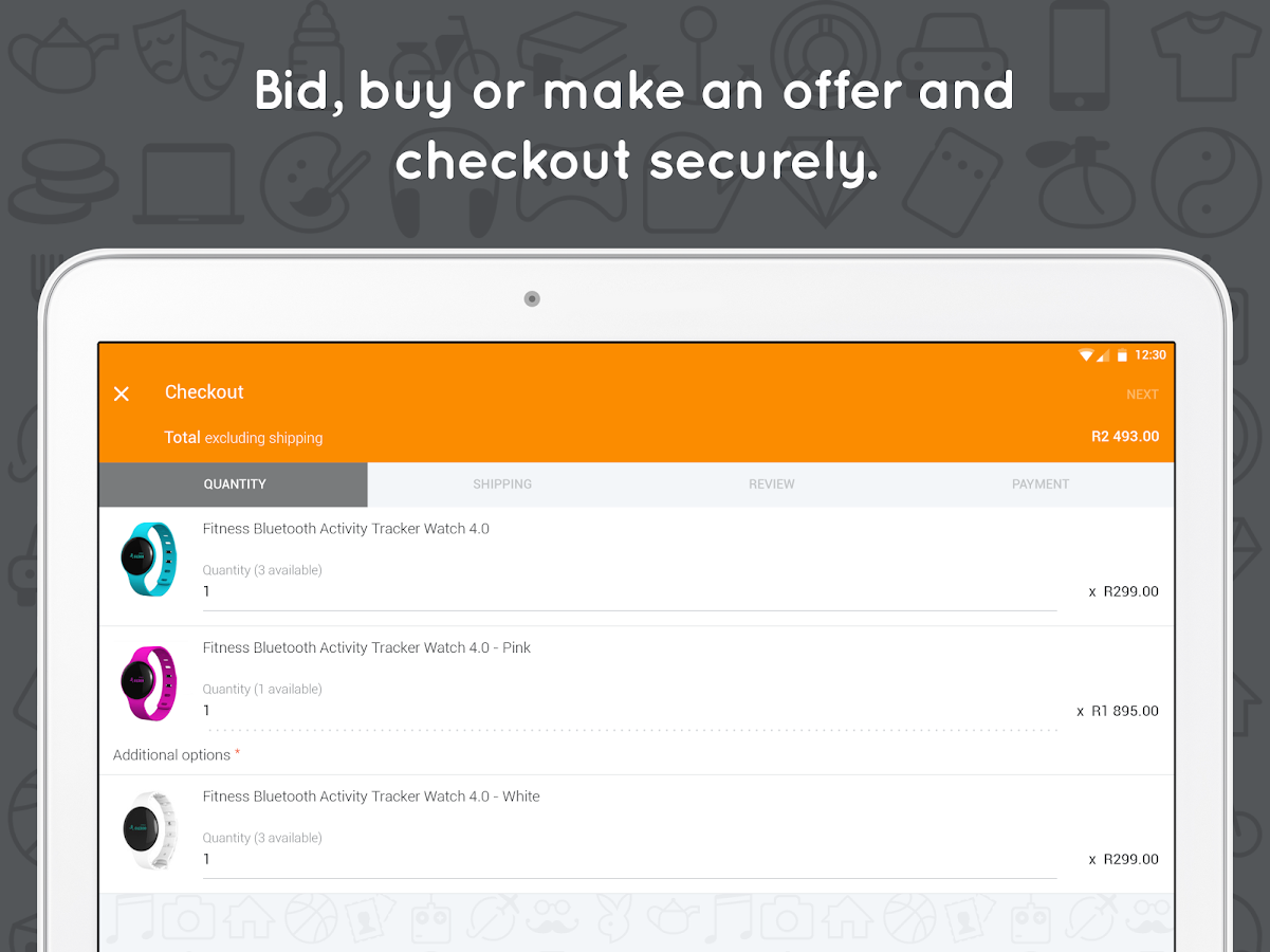 bidorbuy online shopping- screenshot