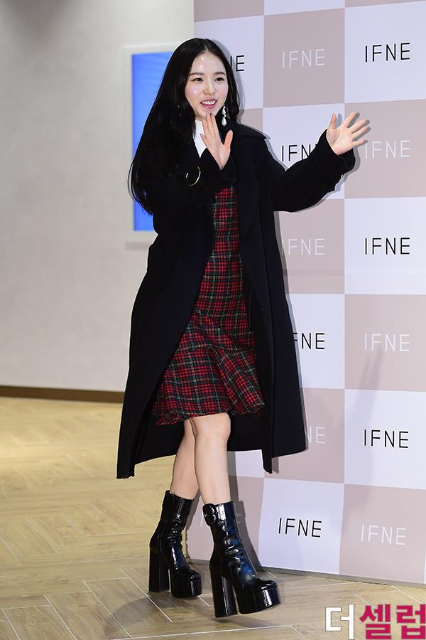 min hyo rin weight gain 7