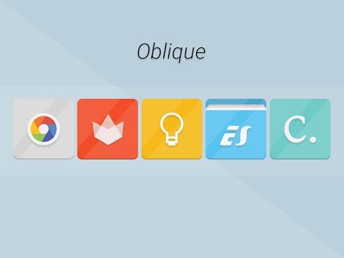 Oblique - Icon Pack v1.2