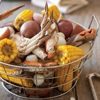 Cajun Crab Boil.