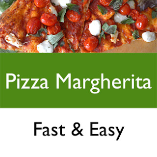 Pizza Margherita, Fast and Easy