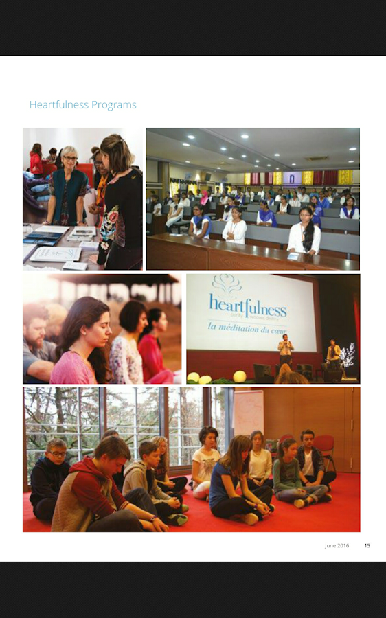 Heartfulness eMagazine- screenshot