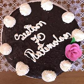 Cake of the chocolate by Alesanko Rodriguez - Food & Drink Candy & Dessert ( cake, birthday, chocolate, tart, candy, taste, dessert,  )