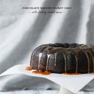Chocolate Whiskey Bundt Cake with Whiskey Caramel Sauce Recipe