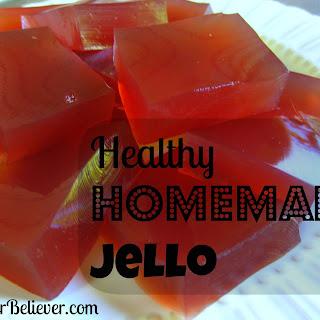 Healthy Homemade Jello.