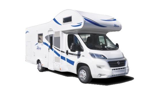 Alquiler y venta de autocaravana BluCamp Lucky 650 en Zaragoza, Huesca y Teruel