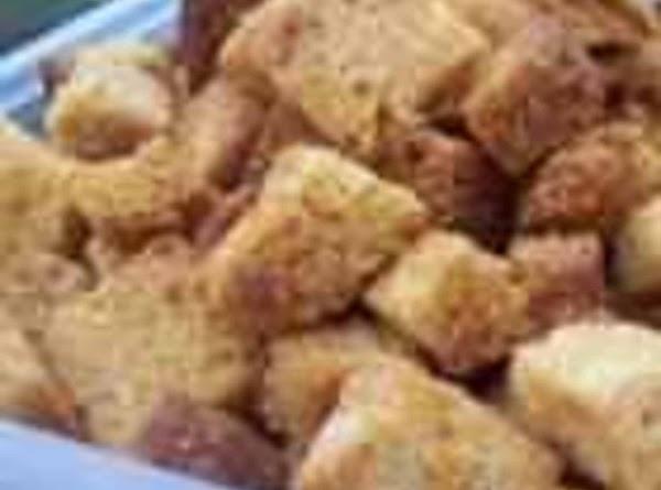 Zesty Homemade Croutons Recipe