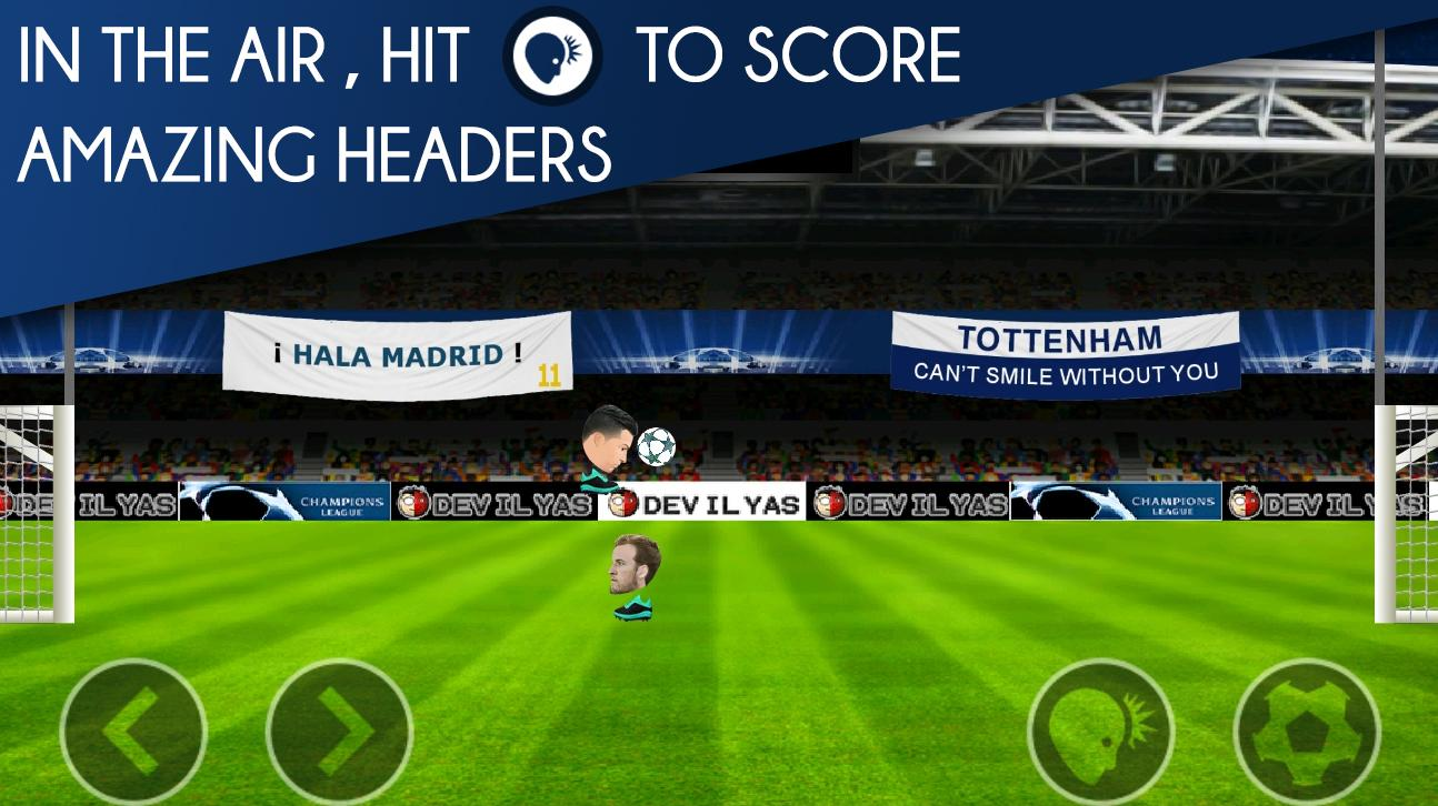 Head FootBall : Champions League 2017- screenshot