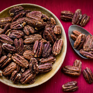 Gingerbread-Spiced Pecans.