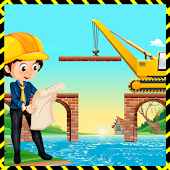 Little Bridge Builder Crew: Adventure Simulator