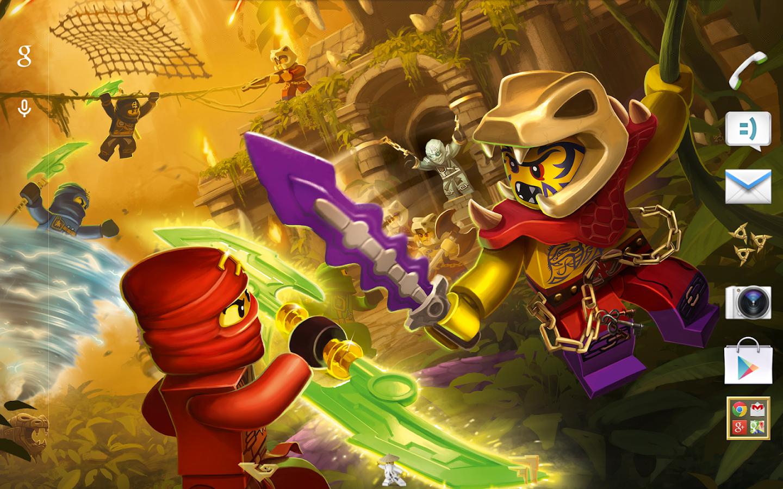 Gmail themes games - Lego Ninjago Tournament Theme Screenshot