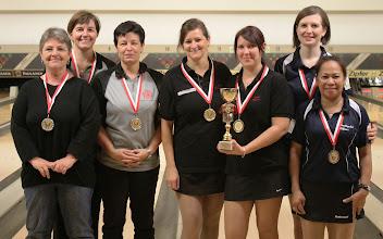 Photo: Die Sieger der LL Doppel Damen