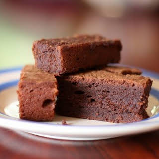 Chocolate Basil Brownies.