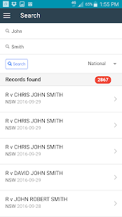 Aust. Criminal Court Records- screenshot thumbnail