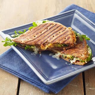 Hummus and Avocado Salad Sandwiches.