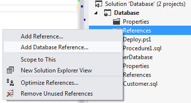 Add Database Reference