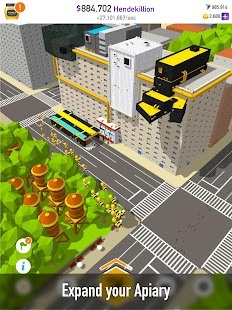 HoneyBee Planet - Tap Tap Bees Screenshot