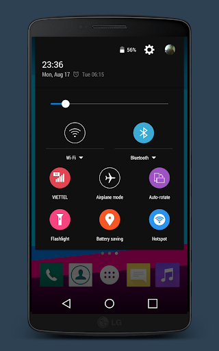G4 Remix for CM12 12.1