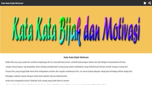 Download Kata Kata Bijak Motivasi Lucu Dan Keren Google Play