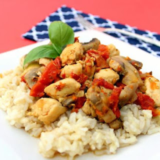 Chicken with Sun-Dried Tomatoes