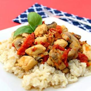 Chicken Sun Dried Tomatoes Mushrooms Recipes