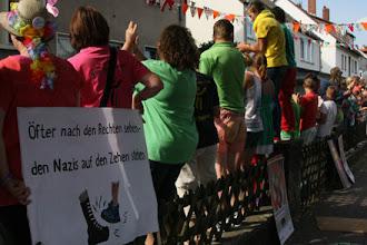 Photo: Die Bürger*innen zeigten ihren Protest.