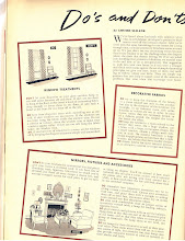 Photo: Do's and Dont's of Decorating - 1941, page 1 of 3