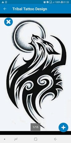 Simple Tribal Tattoo Design Ideas For Menのおすすめ画像4