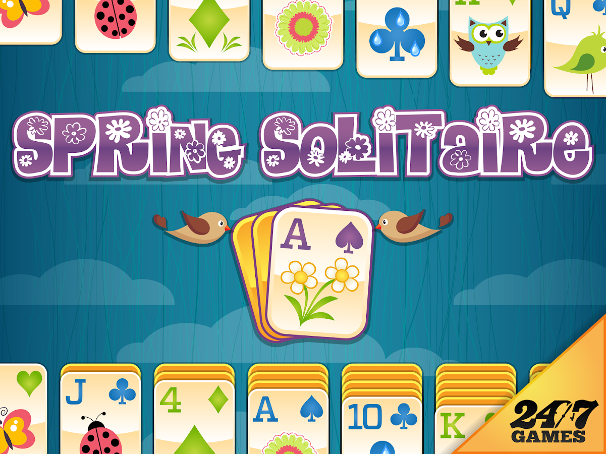 3 card spring solitaire games