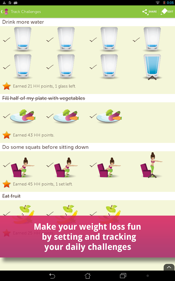 My Diet Coach - Weight Loss- screenshot